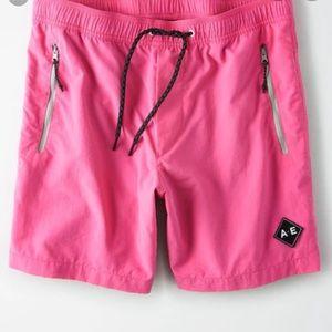 American Eagle Men's All Day Nylon Shorts XS